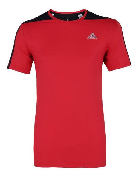 Camiseta Masculina adidas 3s Poliamida Ay7358