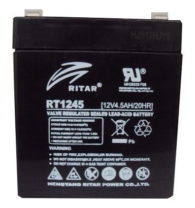 Batería 12v Y 4.5 A Ideal Para Cercos Eléctricos