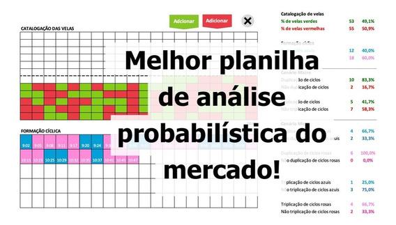 Opções Binárias - Melhor Planilha De Análise Probabilística
