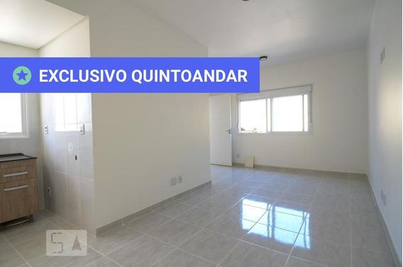 Apartamento No 2º Andar Com 1 Dormitório - Id: 892987178 - 287178