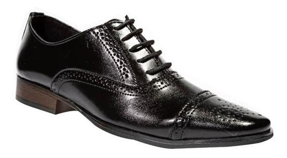 Zapato De Vestir Leon Hombre Caballero Piel 10522