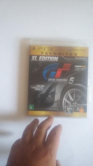 Jogo De Playstation 3 Gran Turismo 5 Bom Estado