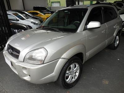Hyundai Tucson Gls 2.7 V6 4wd 2007 Prata Revisada