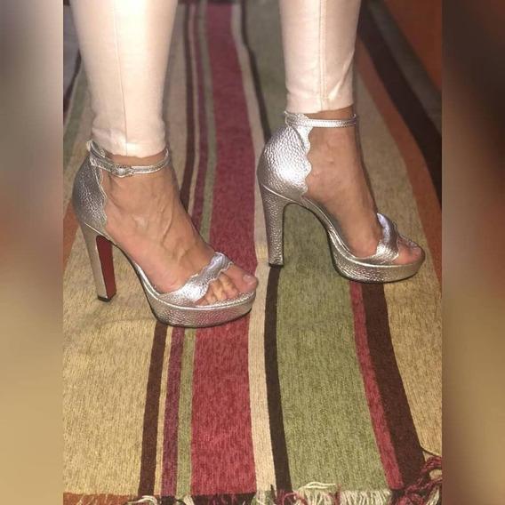 Sandalias Con Plataforma De Vestir Taco Ancho Mujer Moda