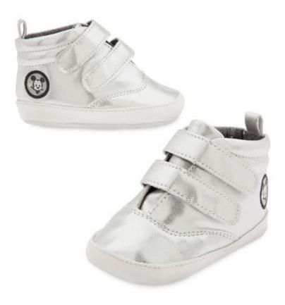 Disney Store Zapatillas Botita Zapato Plateado Lv Importados