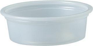 Solo Plastic Cups 05 Oz Clear Portion Container Para Bebidas