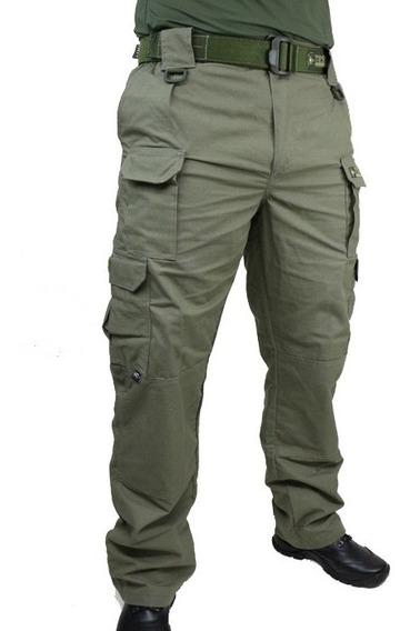 Calça Tática Militar Hrt - Ripstop Verde Oliva Tactical Dacs