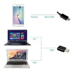 Cámara Flexible Usb Ordenadores Portátiles Teléfonos Android
