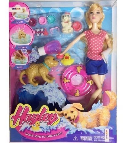 Boneca Hayley C/ Acessorios Semelhante A Barbie - Barato °