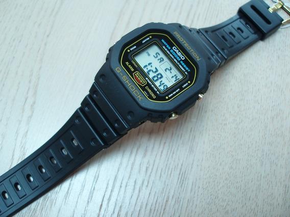 Casio G-shock Dw-5600 Série Ouro * Condição Incrível*