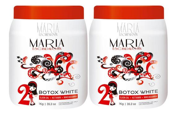 Super Combo 02 Btx Maria Escandalosa Beautox White 1kg