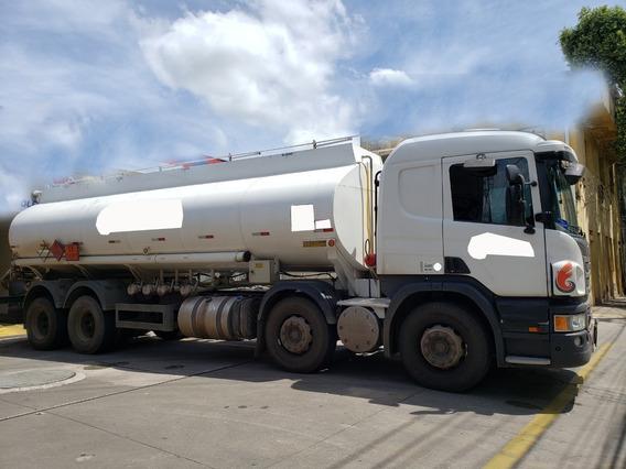 Scania P310 B8x2 Ano 2017 Tanque 23 Mil Litros 319 Mi Km