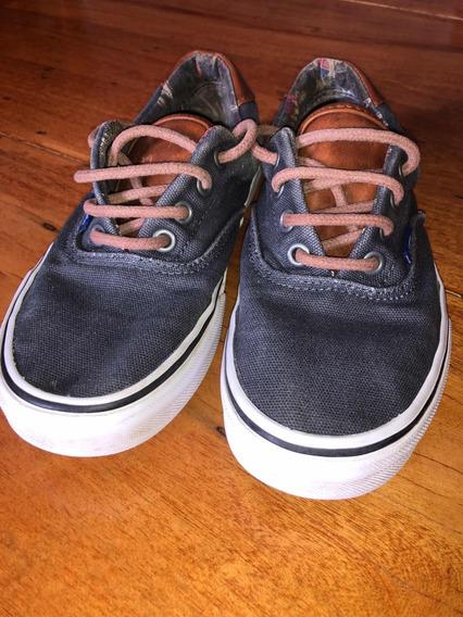 Zapatillas Vans N 34.5 (originales) De Niño Usada