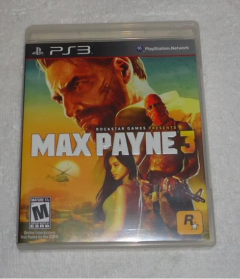 Max Payne 3 Ps3 ** Frete Gratis Leia