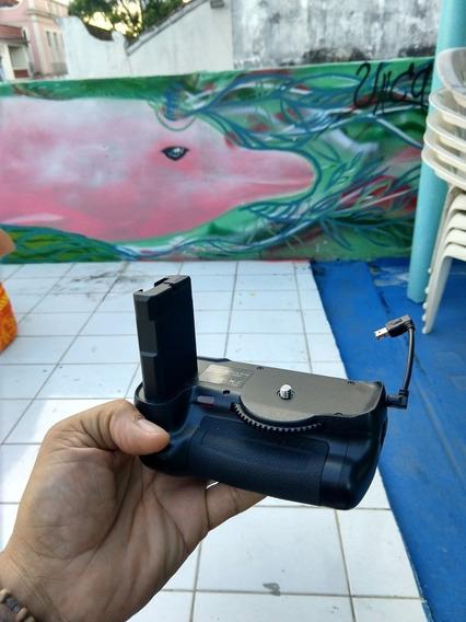 Grip Para Nikon D5500 Com Bateria Inclusa