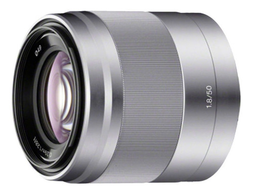 Lente Sony Montura E De Retrato Fe 50 Mm F1.8 Oss | Sel50f18