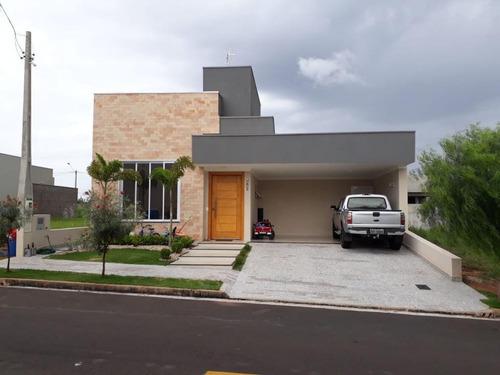 Casa Com 3 Dormitórios À Venda, 152 M² Por R$ 700.000,00 - Condomínio Figueira Ii - São José Do Rio Preto/sp - Ca8184