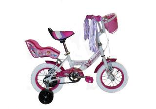 Bicicleta Topmega Princess Rodado 12 Niña
