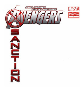 Avengers X-sanction #1 - Blank Cover Variant (2011) Marvel