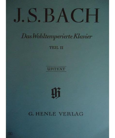 Método Piano Das Wohltemperierte Klavier Teil Ii - J.s. Bach