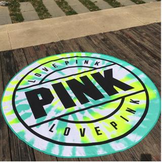 Tapete Toalla Playa Pink Victoria Secret Verde + Tatú Gratis
