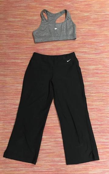 Conjunto Calza Xs Y Top Nike Talle S Un Uso Aprovéchalo