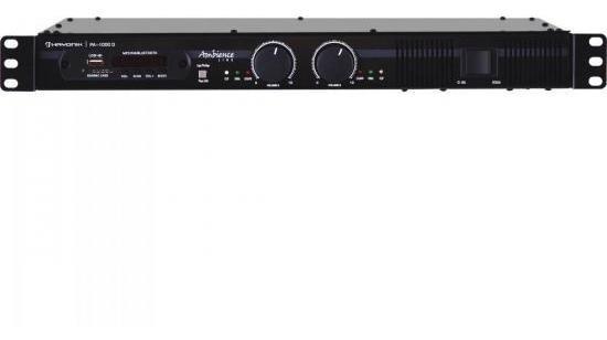Amplificador Bivolt 600w Ambience Pa-6000d Preto Hayonik