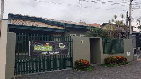 Casa Comercial Para Locação - Região Do Taquaral - Campinas/sp - Ca0889