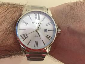 Relógio Atlantis Masculino - Black Friday !
