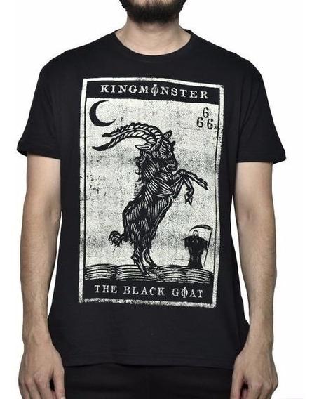Playera Monster Black Goat Satan Original $250