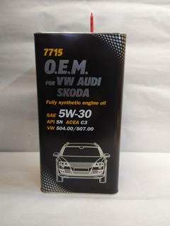 Aceite Lubricante Volkswagen / Audi 5w30 X 5l