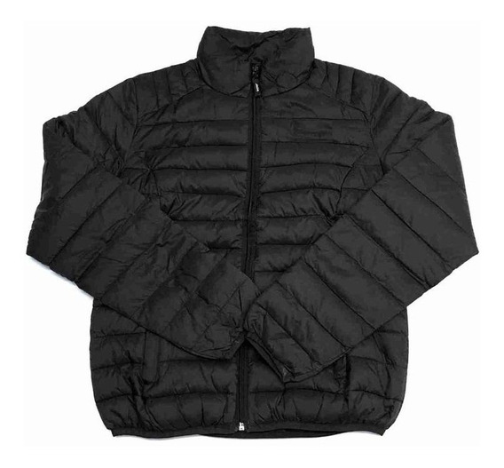 Campera Inflada Flash Unika Negro