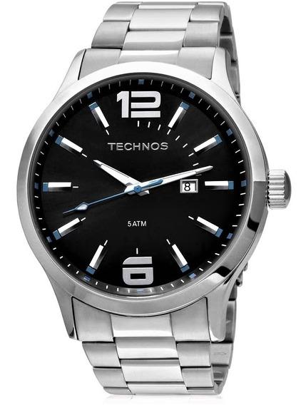 Relógio Technos Masculino 2115gu Azul Ou Vermelho Original
