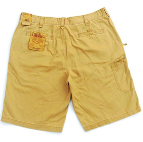 Bermudas Grifes Perry Elles 36 Made In U.s.a Americano