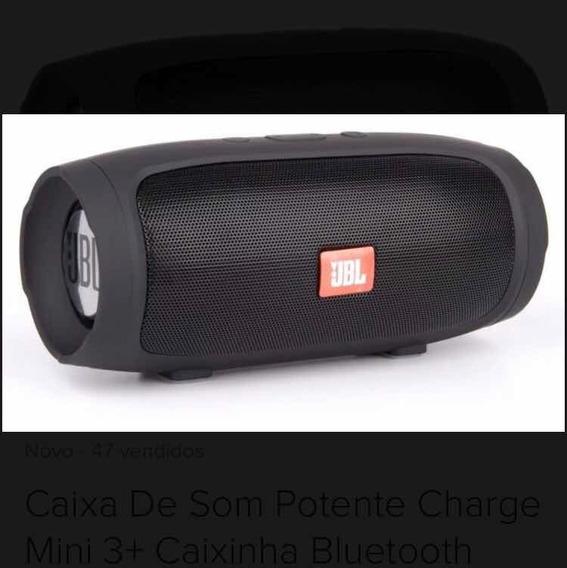 Caixa De Som Potente Charge Mini 3+ Caixinha Bluetooth 2710