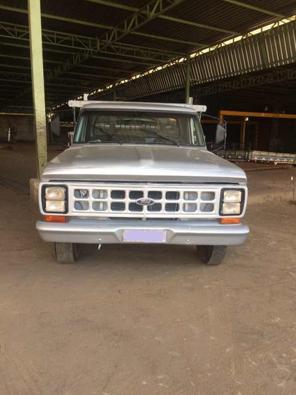 Ford F4000 Ano 1986 Motor Ford
