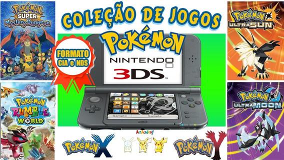 Pokemon Para 3ds - Cia E Nds