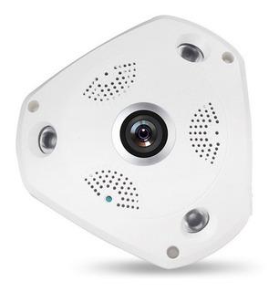 Camara Ip Panoramica 360° Wifi Domo Vigilancia Remota Alarma