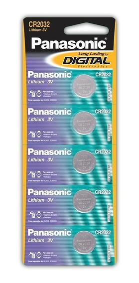 10 Baterias De Lithium Botão Cr2032 - 2 Cartelas
