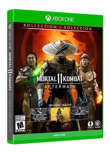 Mortal Kombat 11:aftermath Kollection Standard Edition Xone