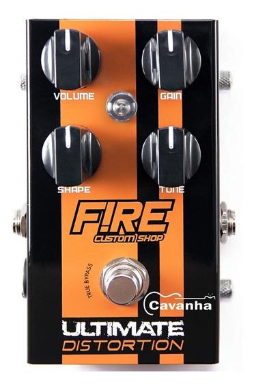 Pedal Ultimate Distortion Fire Efeito De Guitarra Nota Fisca