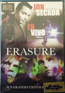 Jon Secada - Erasure Nuevo Cerrado Dvd