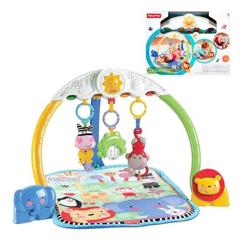 Gimnasio Fisher Price Luces Y Sonidos Mattel Scarlet Kids