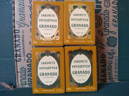Sabonete Granado Antisséptico Tradicional 4 X 90 Gramas