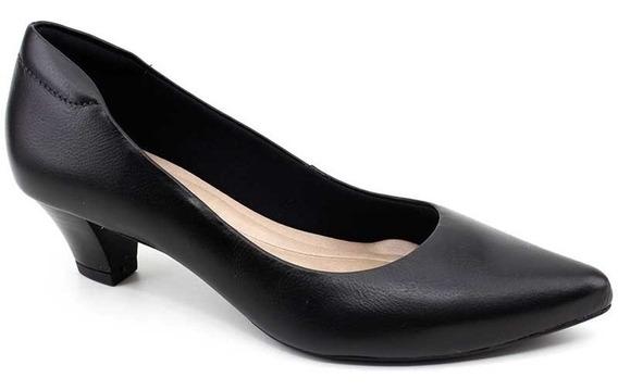 Sapato Scarpin Feminino Couro Neftali 4517 Loja Pixolé