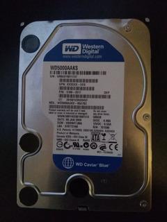 Disco Duro Western Digital Sata 3.5 500gb De Capacidad