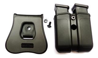 Porta Cargador Doble Para Glock Varios Modelos