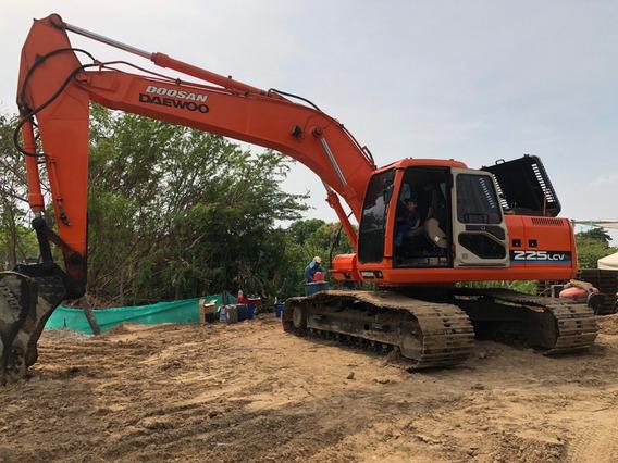 Excavadora Daewoo Doosan
