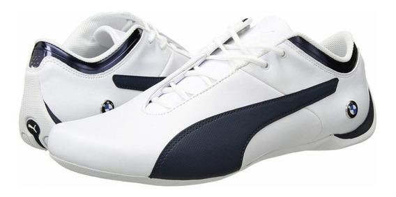 Tênis Puma Bmw Ms Branco C/azul