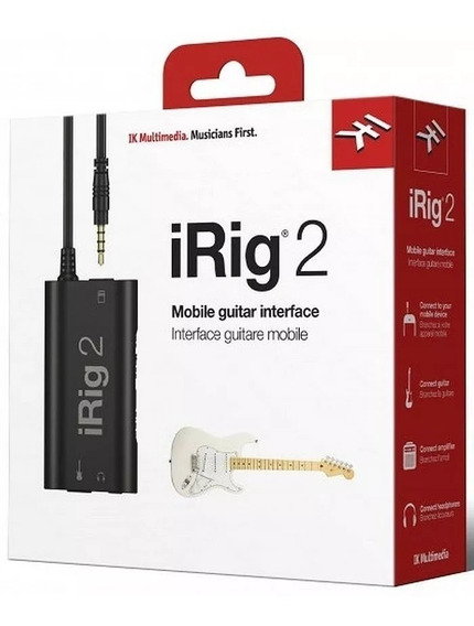 Irig 2 Interface Guitarra iPhone E Android Promoção Irig2